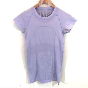Lululemon Run: Swiftly Tech Short Sleeve Lavender